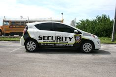 Boynton Beach Florida Security Vehicle Graphics & Lettering  http://carwrapsolutions.com/security-patrol-vehicle-vinyl-graphics-decals-lettering.html