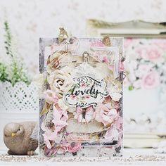 Simply lovely  . . #Repost @nataliarusko ・・・ Бабочки, листочки, ленточки, цветочки- вот мой рецепт простой многослойной открытки)) Ах, да и горы пивного картона для прослоечек... А вы можете зарифмовать ваши любимые скрап-материалы или придётся исписать несколько тетрадок да мелким шрифтом  #скрап #скрапбукинг #творчество #подарокнаденьрождения #подаркигродно #подарокручнойработы #primamarketinginc #primaflowers #scrapbooking #scrap