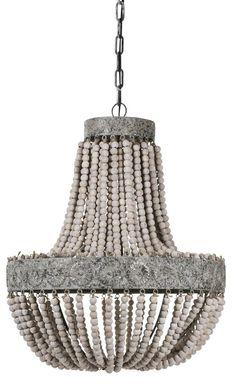Köp - 2790 kr! Takkrona Kullampa Signum - (ljusa träkulor). Signum taklampa är en elegant och pampig takkrona med handträdda