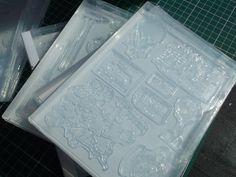 Stempel - Transparente Hüllen für Motivstempel - ein Designerstück von Dekorgenial bei DaWanda