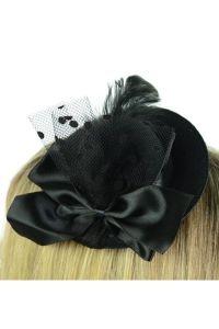 Gothic Fascinator - Bella Hat