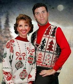 NASCAR Drivers in their Ugly CHristmas Sweaters... Denny Hamlin