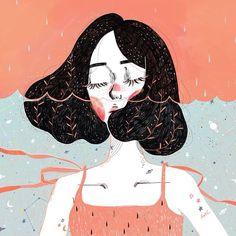 Muito, muito, muito amor por essa ilustra. Por Kathrin Honesta. ❤️❤️