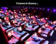 Awesome cinema in Greece...