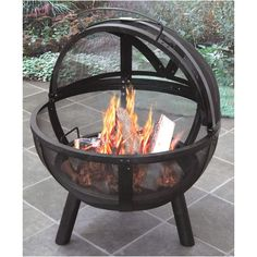 Found it at AllModern - Ball of Fire Steel Bowl Fire Pit