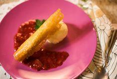 Receita de Cornetto de mascarpone com frutas vermelhas!