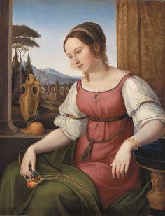 Bildnis einer jungen Römerin (Angelina Magatti) (M+) | DIE PINAKOTHEKEN