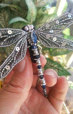 Стрекоза-символ лета. | biser.info - всё о бисере и бисерном творчестве