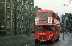 in Tooley Street, London History, Local History, London Bus, Old London, Routemaster, Double Decker Bus, Bus Coach, London Transport, South London