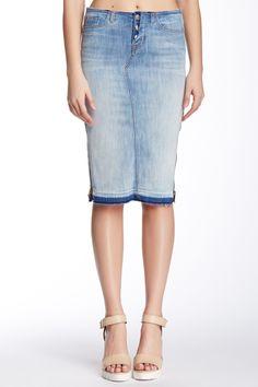 Vivienne Denim Pencil Skirt by HUDSON Jeans on @nordstrom_rack