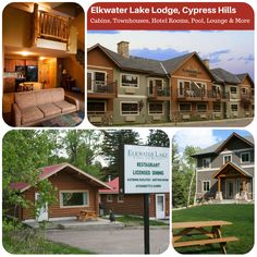 The Elkwater Lake Lodge is a perfect site for groups of any type, family reunions, weddings, corporate or recreational organizations