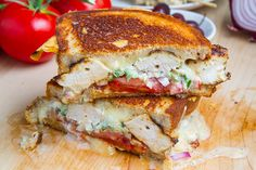 Chicken Gyro Grilled Cheese (aka The Gyro Melt) Gyros with cheese? What's not to love?!