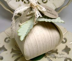 Curvy Keepsake Pumpkin www.stampingwithlinda.com Check out my Stamp of the Month Kit Program Linda Bauwin – CARD-iologist  Helping you create cards from the heart.