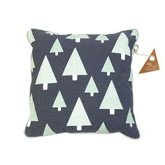 """Cuddle up with a friendly fox - pillow from the Forest Ranger collection. This square cushion has a fun fox print on the front with the saying """"nice dreams little wild one"""". Friendly Fox, Fox Pillow, Nice Dream, Teen Bedding, Fox Print, Make Your Bed, Ron, Kids Decor, Home Decor"""