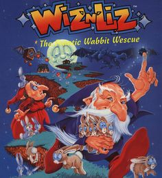 Wiz n Liz - Sega Meadrive / Genesis