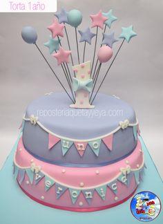 Torta 1 año - First year cake