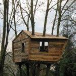 Pallet Baumhaus für unsere Kinder