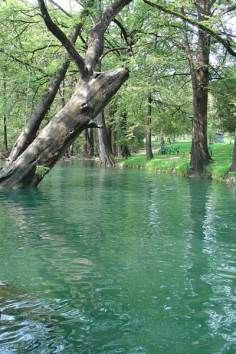 The Blue Hole in Wimberley, TX - alt to Krause Springs and Barton Springs