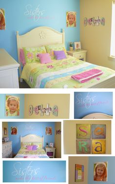 who says a girls room can't be blue?
