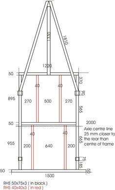 planos para fabricar trailer acoplados o batan