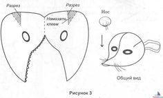 Como hacer una mascara de ratón con foami - Imagui