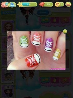 Converse nagels