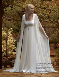 medieval celtic wedding dress