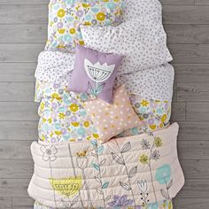 Floral Suite Bedding | The Land of Nod