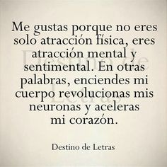 Image shared by Find images and videos about phrases and spanish on We Heart It - the app to get lost in what you love. Romantic Spanish Quotes, Spanish Quotes Love, Spanish Inspirational Quotes, Romantic Quotes, Romantic Humor, Amor Quotes, Words Quotes, Life Quotes, Qoutes
