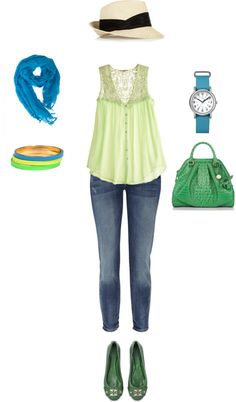 Casual Sunday, created by tranbr on Polyvore