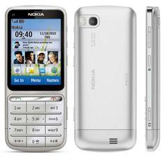 NOKIA C3-01-SILVER 5 MP KAMERA BLUETOOTH WIFI 3G FM MP3 DOKUNMATİK EKRAN