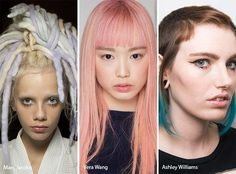 Spring/ Summer 2017 Hair Color Trends: Pastel Hair