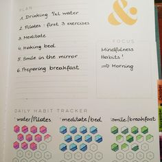 I loved seeing this helpful image being posted in our Facebook group showing how you can use the habit trackers for SIX different habits. It goes along perfectly with this season of my podcast - creating personalized systems that work for you. Just because you see three sections for tracking, doesn't mean you need to limit yourself... it's whatever you want in your planner as personal priorities! #inkwellpress
