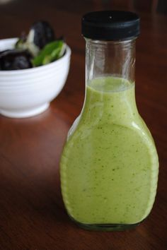 Creamy Avocado Dressing by Test Kitchen Tuesday   If your looking for healthy creative recipes be sure to check out Test Kitchen Tuesday.