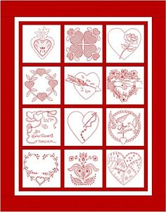 Sweethearts Sampler Quilt