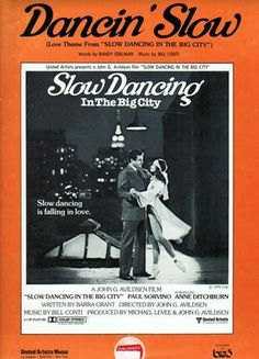 Watch Slow Dancing In The Big City Full Movie Streaming HD