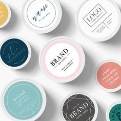 Custom Logo Stickers, Custom Logo labels, Custom Product Sticker, Round Custom Sticker labels, logo stickers, labels for bath, remade label