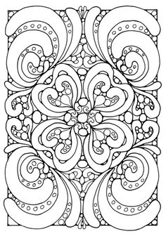 TIP D PALMER Coloring Page Mandala A04 Edupics