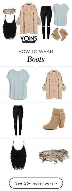 """""""♡ WIN YOINS KHAKI COAT OR $30 VOUCHER ♡"""" by anisimova-i on Polyvore featuring H&M, River Island, Aéropostale, Forever 21, women's clothing, women, female, woman, misses and juniors"""