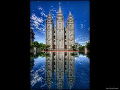 Salt Lake City LDS Temple  ~ Sealed in Marriage for Time and All Eternity on April 28, 2007