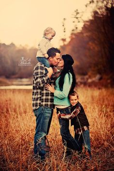cute family pose