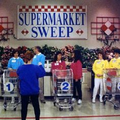 always watched this with my mom & grandma! haha. i would practice at the grocery store in case we got on this show!