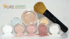 Pure Confidence Minerals - 8pc Mineral Makeup Starter Kit with Foundation Brush, $23.99 (http://www.pureconfidenceminerals.com/8pc-mineral-makeup-starter-kit-with-foundation-brush/)