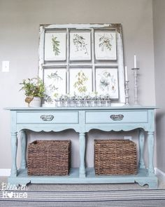 Beachy-Console-Table-Makeover-1-of-11-819x1024