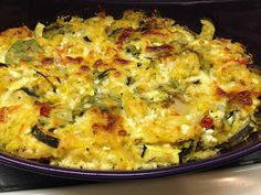 Baked Spaghetti Squash Casserole by cleanandleaner.blogspot.com clean eating, vegetarian, gluten free