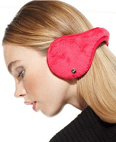 180s Ear Warmers, Lush Plush Fleece with Headphones - Hats, Gloves & Scarves - Handbags & Accessories - Macy's