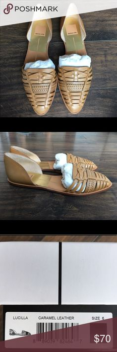 Brand New Dolce Vita Lucilla Sandals! Never worn leather sandals, woven design. New in box!! Dolce Vita Shoes Sandals