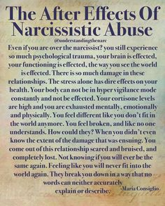 Aftereffects of Narcissist Abuse. Narcissistic People, Narcissistic Behavior, Narcissistic Abuse Recovery, Narcissistic Personality Disorder, Narcissistic Sociopath, Narcissistic Abuse Syndrome, Narcissistic Men Relationships, Narcissistic Mother In Law, Sociopath Traits