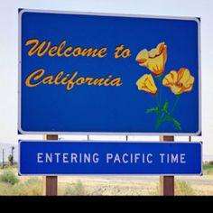 California born and bred . . .