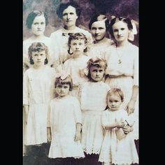 Eight daughters. EIGHT daughters.  #poordad #xchromosomerepresent #edwardian #vintagestyle by vintagefashionlibrary